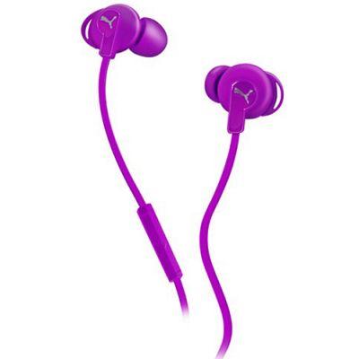 Наушники PUMA PMAD6032 BULLDOGS SPORT-LITE IN-EAR + MIC (Purple) PMAD6032PUR