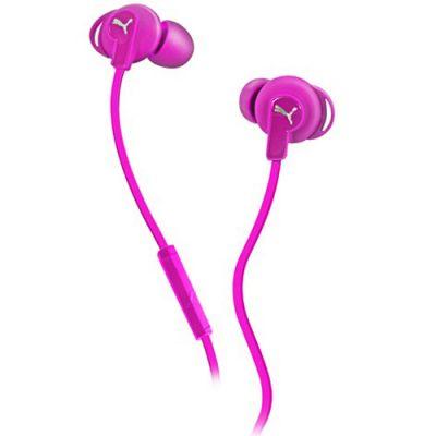Наушники PUMA PMAD6032 BULLDOGS SPORT-LITE IN-EAR + MIC (Pink) PMAD6032PNK