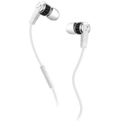 Наушники PUMA PMAD6011 EL DIEGO DOS IN-EAR + MIC (White) PMAD6011WHT
