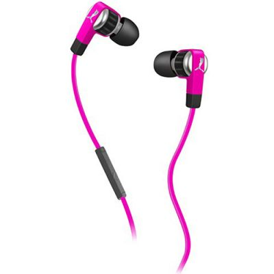 Наушники PUMA PMAD6011 EL DIEGO DOS IN-EAR + MIC (Pink) PMAD6011PNK