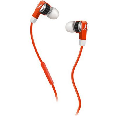 Наушники PUMA PMAD6011 EL DIEGO DOS IN-EAR + MIC (Red) PMAD6011RED