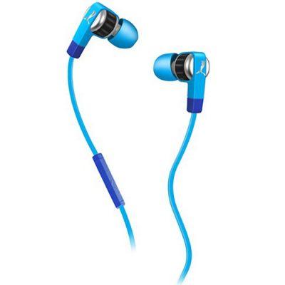 Наушники PUMA PMAD6011 EL DIEGO DOS IN-EAR + MIC (Blue) PMAD6011CYAN