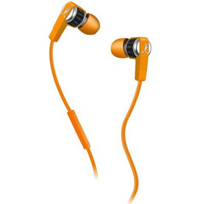 Наушники PUMA PMAD6011 EL DIEGO DOS IN-EAR + MIC (Orange) PMAD6011ORG