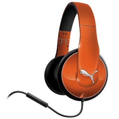 Наушники PUMA PMAD6010 VORTICE OVER-EAR + MIC (Orange) PMAD6010ORG