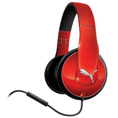 �������� PUMA PMAD6010 VORTICE OVER-EAR + MIC (Red) PMAD6010RED