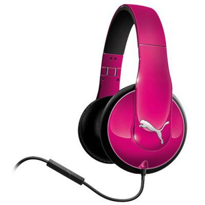 Наушники PUMA PMAD6010 VORTICE OVER-EAR + MIC (Pink) PMAD6010PNK