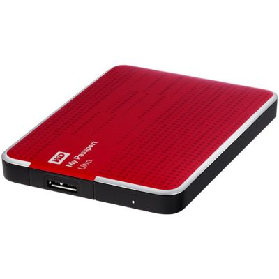 "Внешний жесткий диск Western Digital HDD USB3 My Passport Ultra 500GB EXT. 2.5"" Red WDBLNP5000ARD-EEUE"