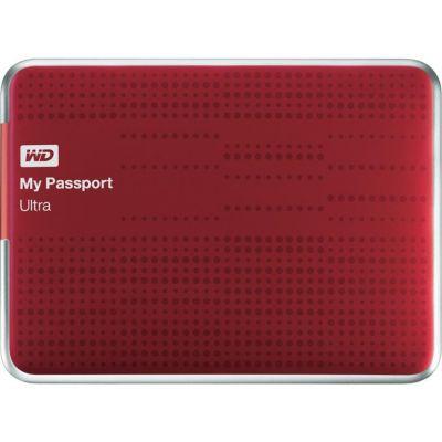 "Внешний жесткий диск Western Digital USB3.0 My Passport Ultra 1TB EXT. 2.5"" Red WDBJNZ0010BRD-EEUE"