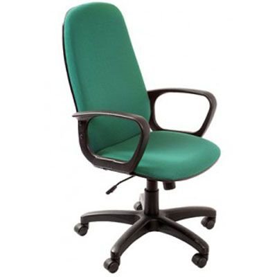 Офисное кресло Бюрократ руководителя Ch-808AXSN Green