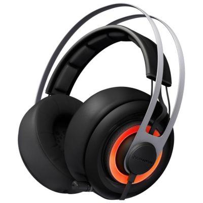 Наушники с микрофоном SteelSeries Siberia Elite black (51127)