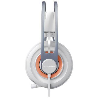 Наушники с микрофоном SteelSeries Siberia Elite white (51151)
