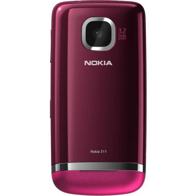 Смартфон Nokia Asha 311 (Rose Red)