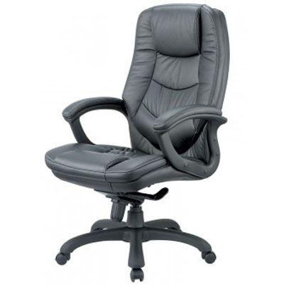 Офисное кресло Бюрократ руководителя T-9970AXSN Black черная кожа (68093) T-9970AXSN/BLACK
