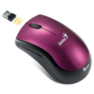 Мышь беспроводная Genius Ergo 7000 Purple USB