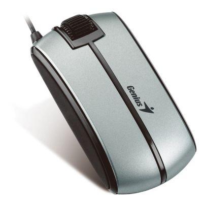 Мышь проводная Genius Traveler 330 Grey-Black USB