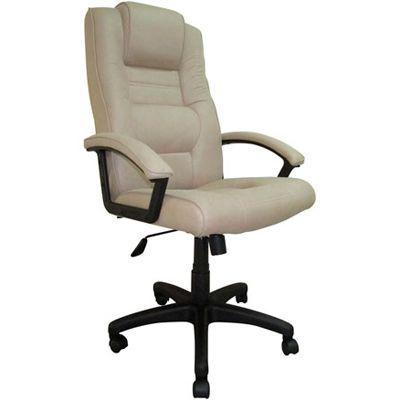 Офисное кресло Бюрократ руководителя бежевый T-9906AXSN/F10
