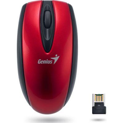Мышь беспроводная Genius Mini Navigator 900 Red USB