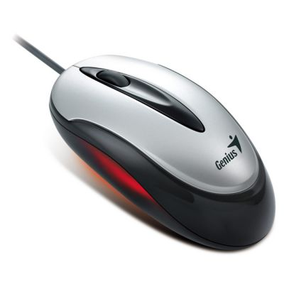 Мышь проводная Genius Traveler 100V Silver-Black USB