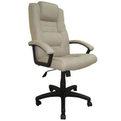 Офисное кресло Бюрократ руководителя серый нубук T-9906AXSN/F11