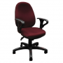 Офисное кресло Бюрократ T-612AXSN/Ch бордовый