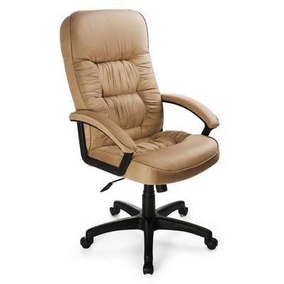 Офисное кресло Бюрократ руководителя бежевая микрофибра T-9908AXSN/MF105