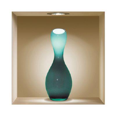 """Декоративная наклейка Nisha Nisha-243 32x32см """"Цветные вазы"""" 3шт"""