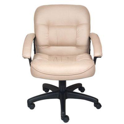Офисное кресло Бюрократ руководителя (бежевая микрофибра MF105, низкая спинка)T-9908AXSN-Low/MF105
