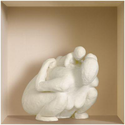 """Декоративная наклейка Nisha Nisha-489 32x32см """"2 статуэтки, ваза"""" 3шт"""