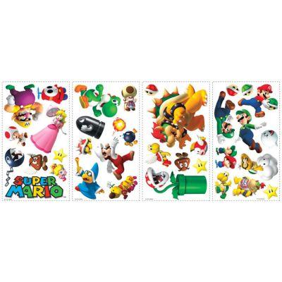 Декоративная наклейка RoomMates 675SCS Nintendo Супер Марио