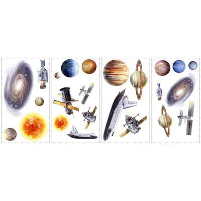 Декоративная наклейка RoomMates RMK1003SCS Космическое путешествие