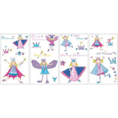 Декоративная наклейка RoomMates RMK1015SCS Сказочная принцесса