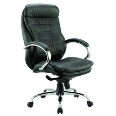 Офисное кресло Бюрократ руководителя (черная кожа) (68458) T-9950AXSN/Black