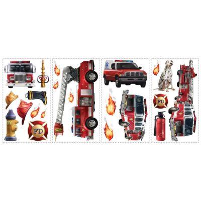 Декоративная наклейка RoomMates RMK1125SCS Пожарная команда