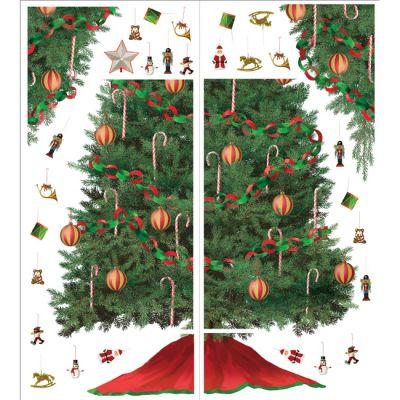Декоративная наклейка RoomMates RMK1203GM Рождественская елка