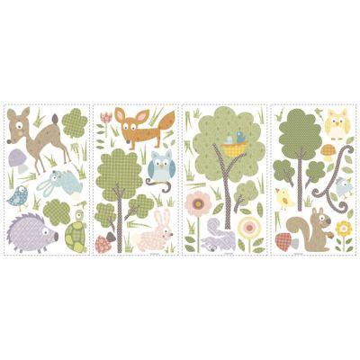 Декоративная наклейка RoomMates RMK1398SCS Лесные животные