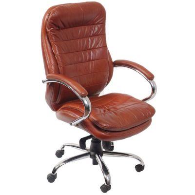 Офисное кресло Бюрократ руководителя (коричневая кожа) (68476) T-9950AXSN/Brown