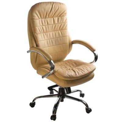 Офисное кресло Бюрократ руководителя (кожа цвета слоновой кости) (68479) T-9950AXSN/Ivory