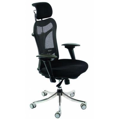 """Офисное кресло Бюрократ руководителя (эргономичная сетка, """"подвижные"""" подлокотники) (68488) CH-999ASX"""