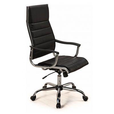 Офисное кресло Бюрократ руководителя черное CH-994