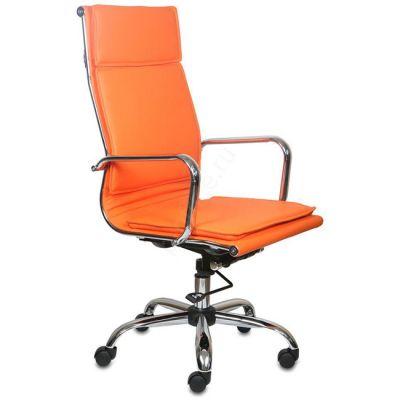 Офисное кресло Бюрократ руководителя CH-993/orange