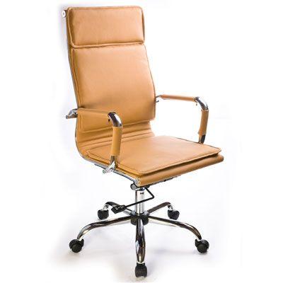 Офисное кресло Бюрократ руководителя CH-993/camel