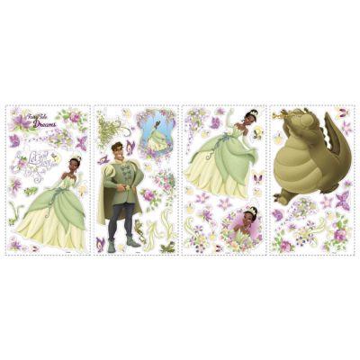 Декоративная наклейка RoomMates RMK1423SCS Disney Принцессы с 3D бабочками