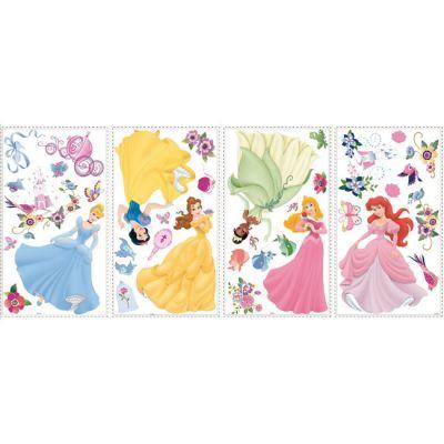 Декоративная наклейка RoomMates RMK1470SCS Disney Принцессы с самоцветами