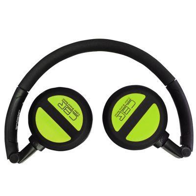 Наушники с микрофоном CBR CHP 633 Bt Black/Green