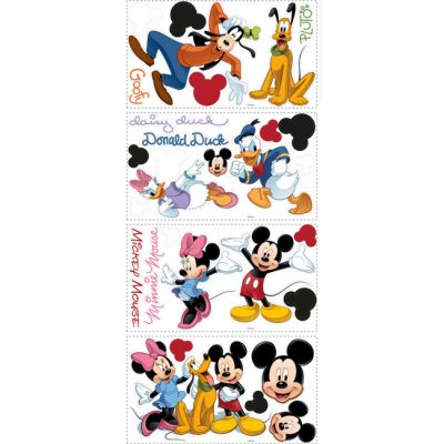 Декоративная наклейка RoomMates RMK1507SCS Disney Микки Маус