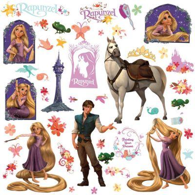 Декоративная наклейка RoomMates RMK1524SCS Disney Рапунцель