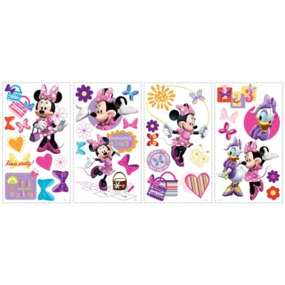 Декоративная наклейка RoomMates RMK1666SCS Disney Минни Маус
