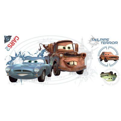 Декоративная наклейка RoomMates RMK1755FLT Disney Тачки (расшир. реальность)