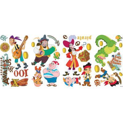 Декоративная наклейка RoomMates RMK1778SCS Джейк и Пираты