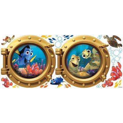 Декоративная наклейка RoomMates RMK2060GM Disney В поисках Немо